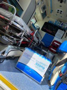 Απολύμανση ασθενοφόρου με Hygene Air 50